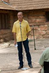 Superintendent of Zion National Park Jock Whitworth