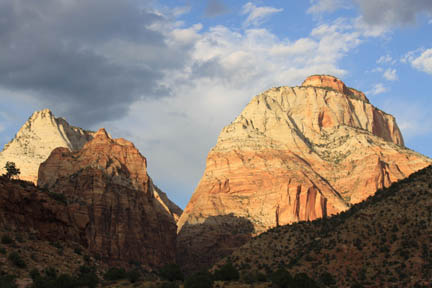 Zion's West Temple Photo by Jock Whitworth