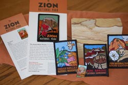 Zion Collectable Patches