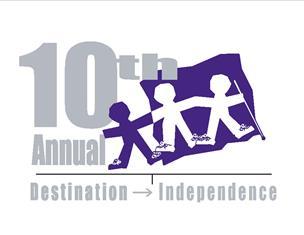 10th Anniversary Walk Logo