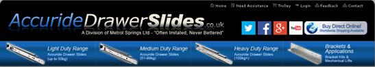 Accuride Drawer Slides