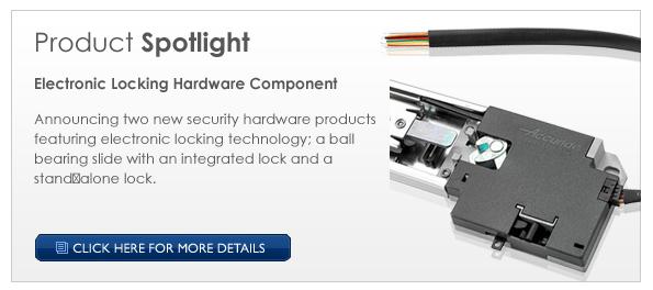 Electronic Locking Hardware Components
