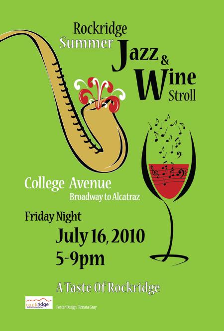 summer jazz  poster