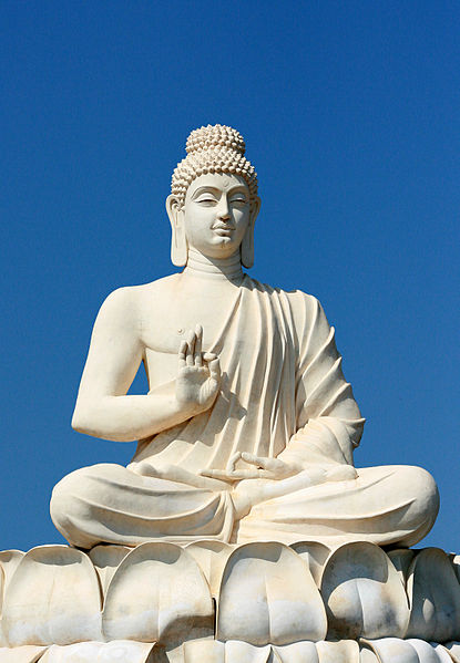 Buddha on a lotus