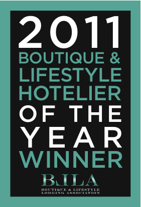 2011 BLA Hotelier of the Year