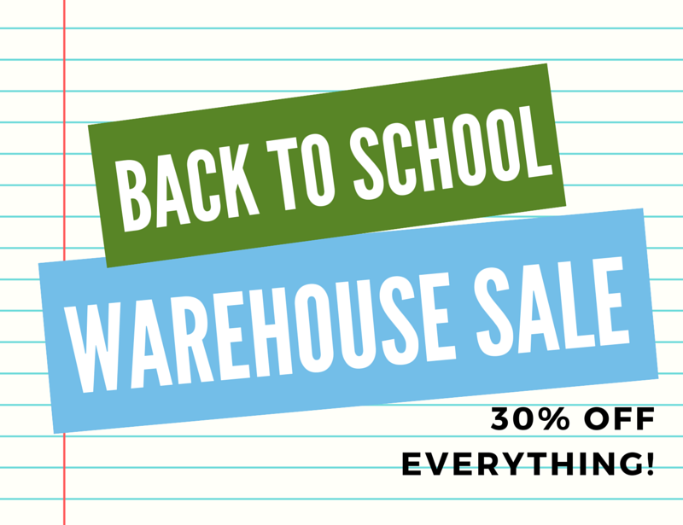 Shop Today_ Back to School - Warehouse Sale - 30_ Off Everything_