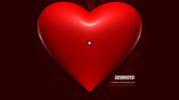 animoto heart