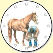 Farrier Clock