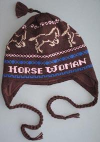 Horsewoman flap hat