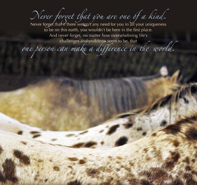 Horses & Hope Calendar March