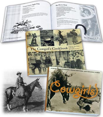 Cowgirls Cookbook & Book
