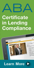 ABA Ad-certificate in compliance lending