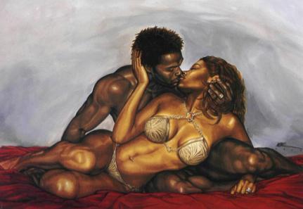 Man And Woman Love Art American Man And Woman Art