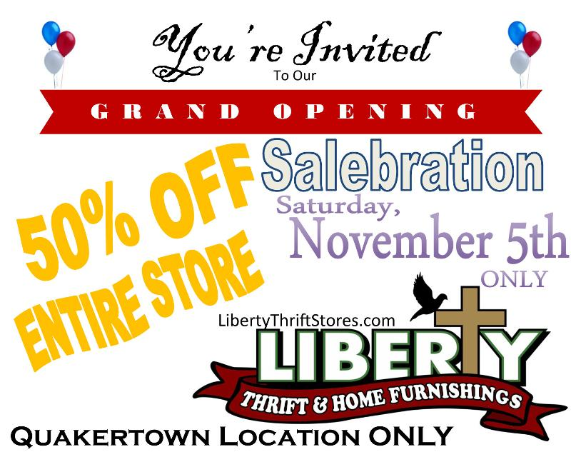 Quakertown Grand Opening