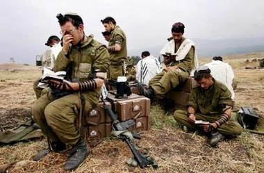 IDF Praying