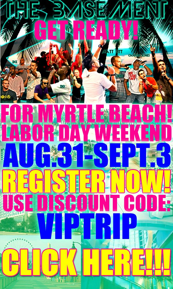 MYRTLE BEACH TRIP LABOR DAY AUG 31- SEPT 3