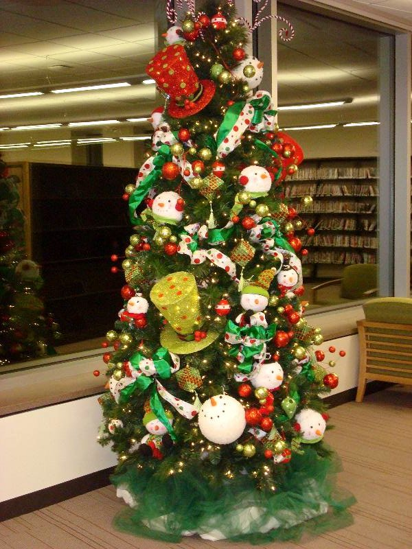 Library Winter Tree