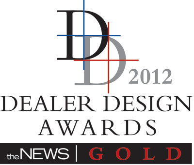 Dealer Design Gold 2012 Logo