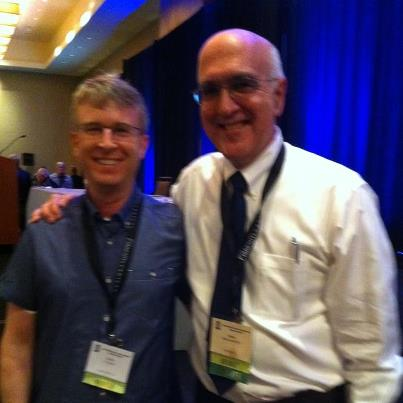 Scott with one of his heroes - Dr. Alan MacDonald
