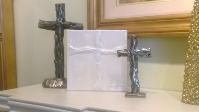 Metal Cross Stand