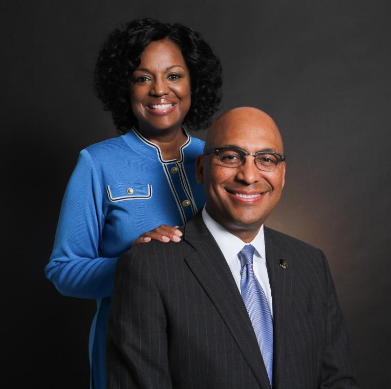 Dr. Willie and Elaine Oliver