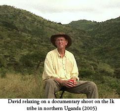 David on a break