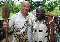 Andrew Zimmern in Uganda