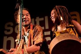 Musicians at Sauti za Busara Music Festival