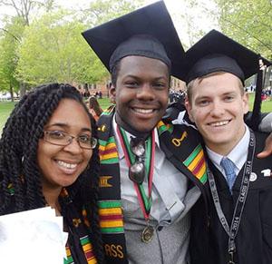 Lester at graduation.