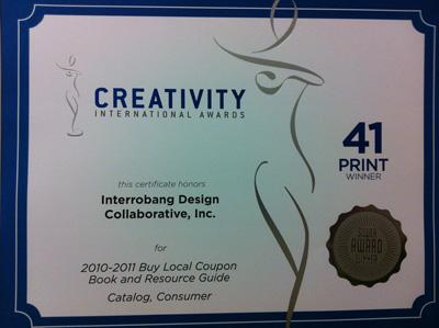 Interrobang Design Collaborative award