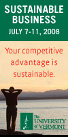 Sustainable Business UVM