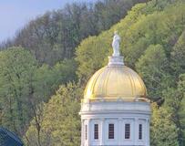 Capital Dome in Spring
