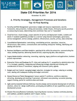Link to 2016 Top 10 Priorities