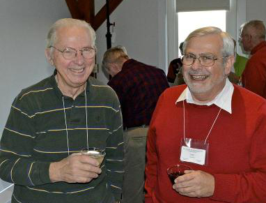 Tom Hollingshead and Sam Barnett