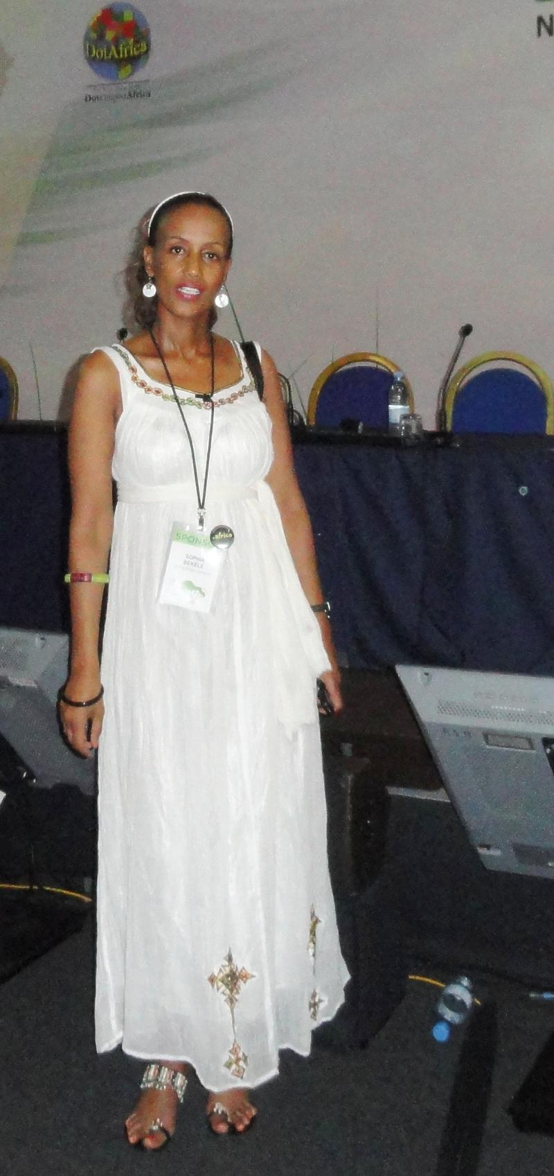 Sophia Bekele at ICANN Forum Dakar