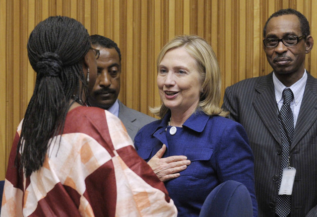 Clinton says African economies will fail without women