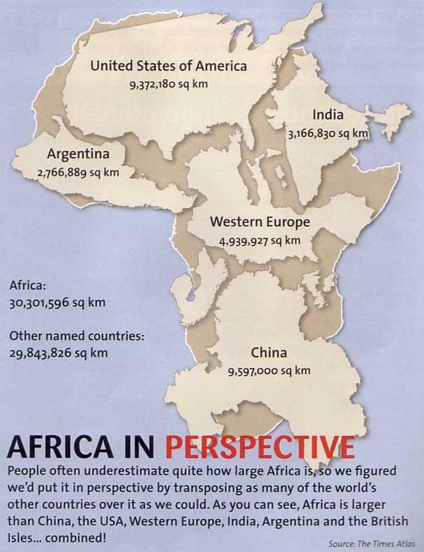 Africa in perspective -DCA