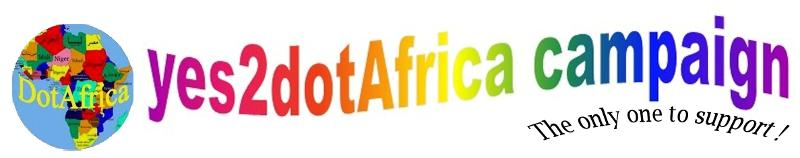 Yes2dotAfrica with logo