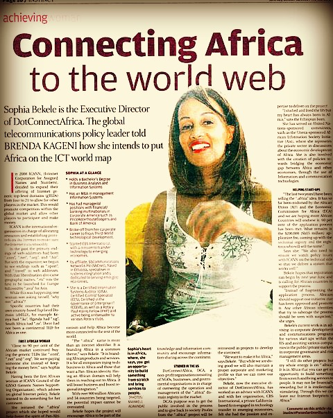 Sophia Bekele - Global Policy Leader - Standard