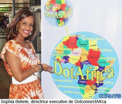Sophia Bekele at ICANN 42 Dakar