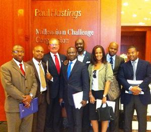 Washington meeting with MCC