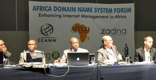 Gideon Rop at DNS Forum SA