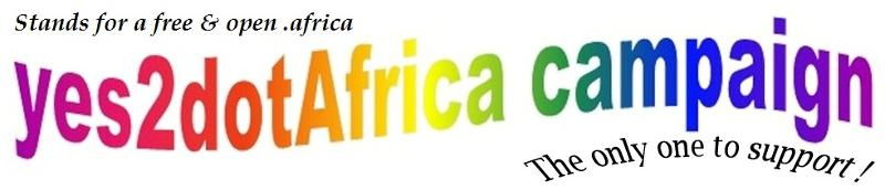 free and open .africa yes2dotafrica campaign!
