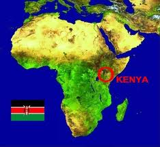 Map of Kenya - DotConnectAfrica