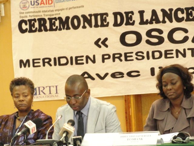 DCA at the Launch of the OSCAR TICE Program