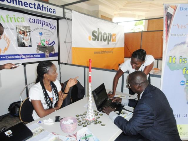 DC A Exhibition at ICANN Dakar Senegal