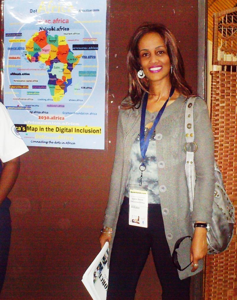 Sophia Bekele in Nairobi ECA