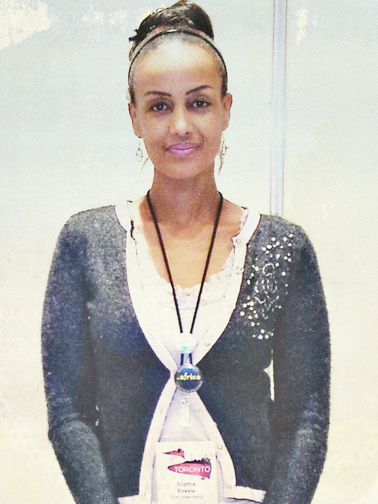 Sophia Bekele at ICANN Public Forum