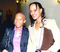 Alice Munyau and Sophia Bekele