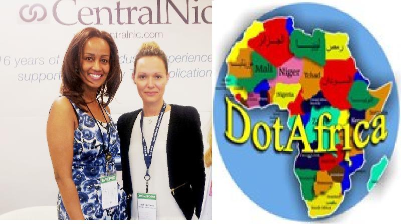 Sophia Bekele with CentralNic